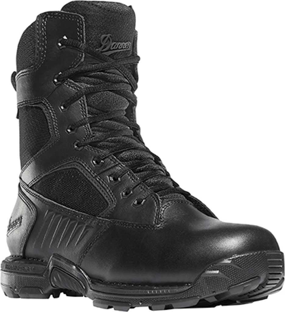 "Men's Danner StrikerBolt Side-Zip 8"" Military Boot, Black Leather/Nylon, large, image 1"