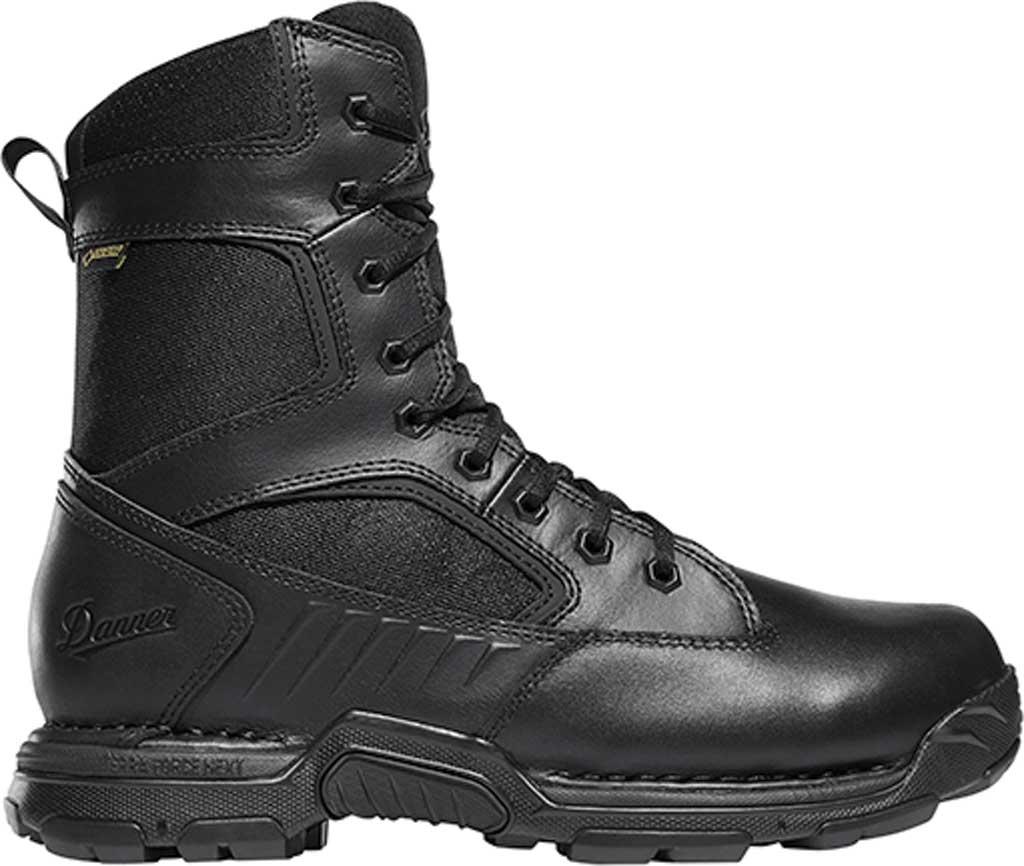 "Men's Danner StrikerBolt Side-Zip 8"" Military Boot, Black Leather/Nylon, large, image 2"