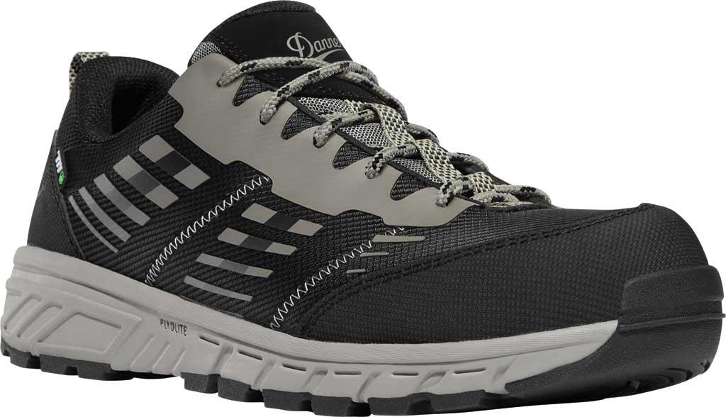 "Men's Danner Run Time 3"" ESD Non-Metallic Toe Work Boot, Black Textile, large, image 1"