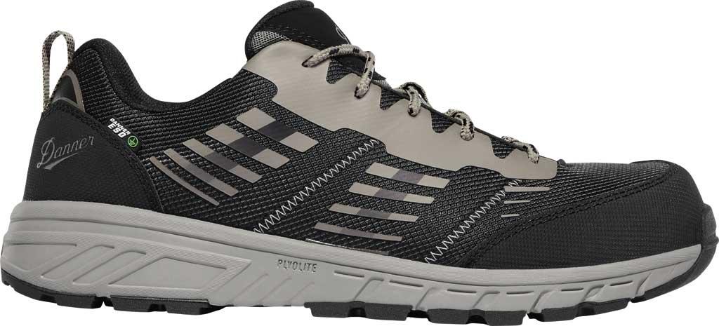 "Men's Danner Run Time 3"" ESD Non-Metallic Toe Work Boot, Black Textile, large, image 2"