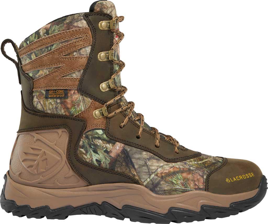 "Men's LaCrosse Windrose 8"" 1000G Hunting Boot, Realtree Edge Nubuck Leather/Textile, large, image 1"