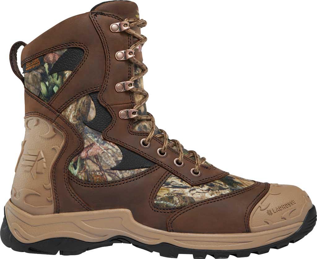 "Men's LaCrosse Atlas 8"" 400G Hunting Boot, Mossy Oak Break-Up Country Nubuck Leather, large, image 1"