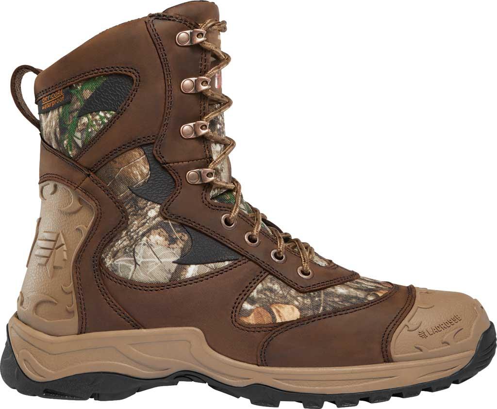 "Men's LaCrosse Atlas 8"" 800G Hunting Boot, Realtree Edge Nubuck Leather, large, image 1"