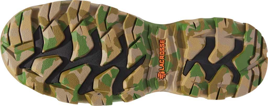 "Men's LaCrosse Alphaburly Pro Side Zip 18"" 1000G Hunting Boot, Realtree Edge Neoprene/Rubber, large, image 4"