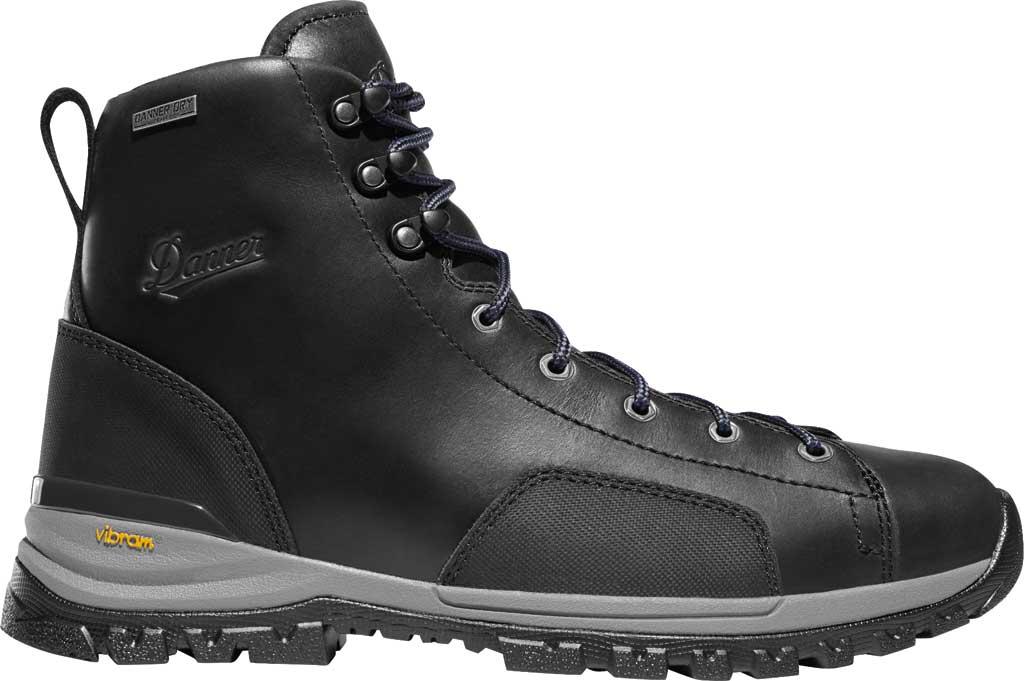 """Men's Danner Stronghold 6"""" NMT Work Boot, Black Full Grain Leather, large, image 2"""