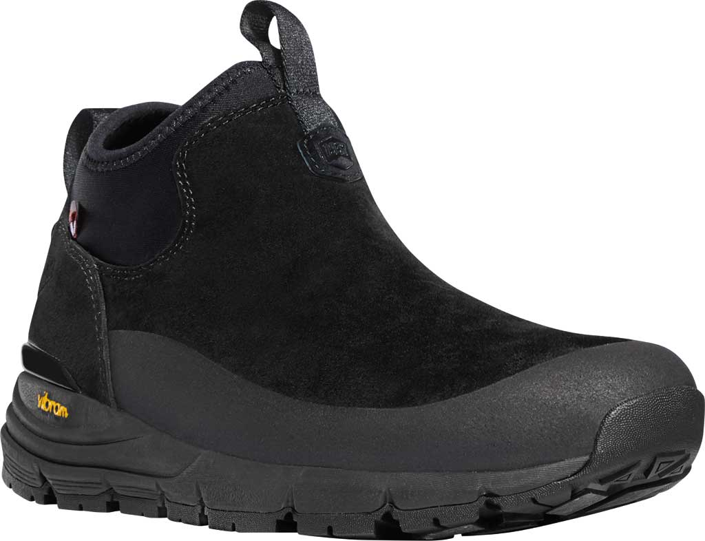"Women's Danner Arctic 600 5"" 200G Chelsea Boot, Black Suede, large, image 1"
