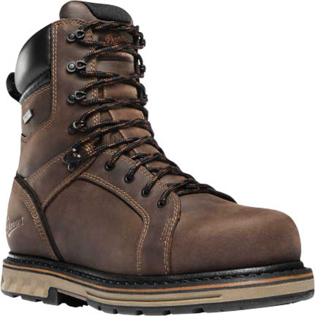 """Men's Danner Steel Yard 8"""" Steel Toe Work Boot, Brown Leather, large, image 1"""