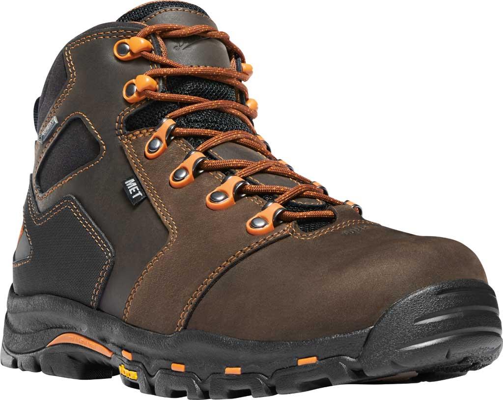 "Men's Danner Vicious 4.5"" GORE-TEX Met Guard/NMT Work Boot, Brown/Orange Leather, large, image 1"