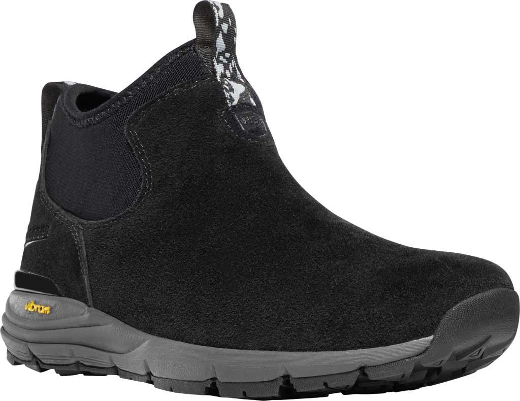 Women's Danner Mountain 600 Chelsea Boot, Jet Black Suede, large, image 1