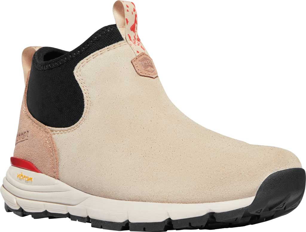 Women's Danner Mountain 600 Chelsea Boot, Warm Sand/Poppy Suede, large, image 1