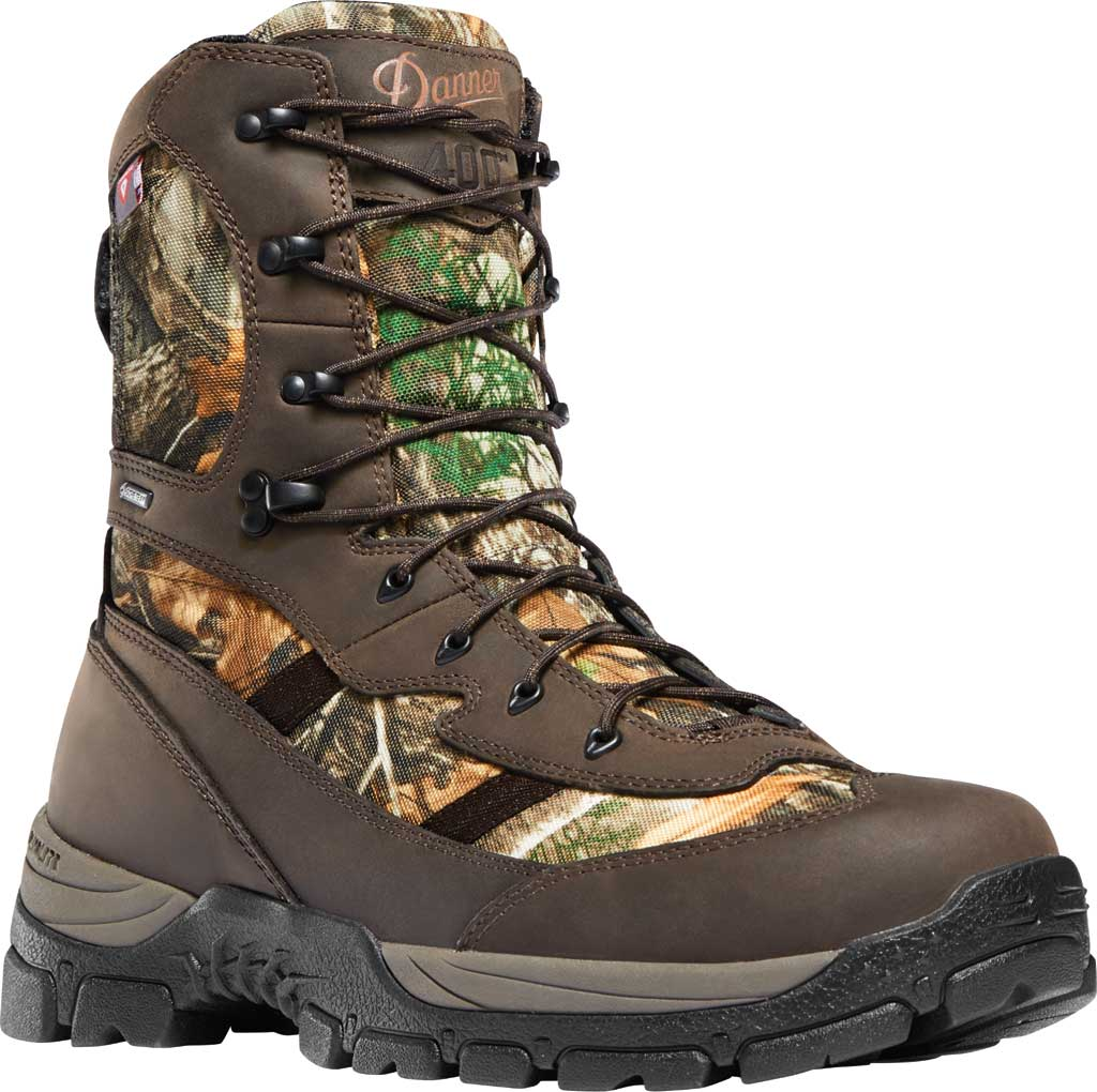 "Men's Danner Alsea 8"" 400G GORE-TEX Waterproof Boot, Realtree Edge Full Grain Leather/900D Polyester, large, image 1"