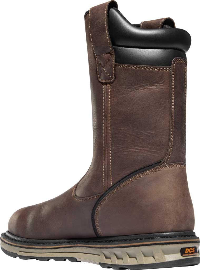 "Men's Danner Steel Yard 11"" HW Wellington Steel Toe Boot 12562, Brown Full Grain Leather, large, image 3"