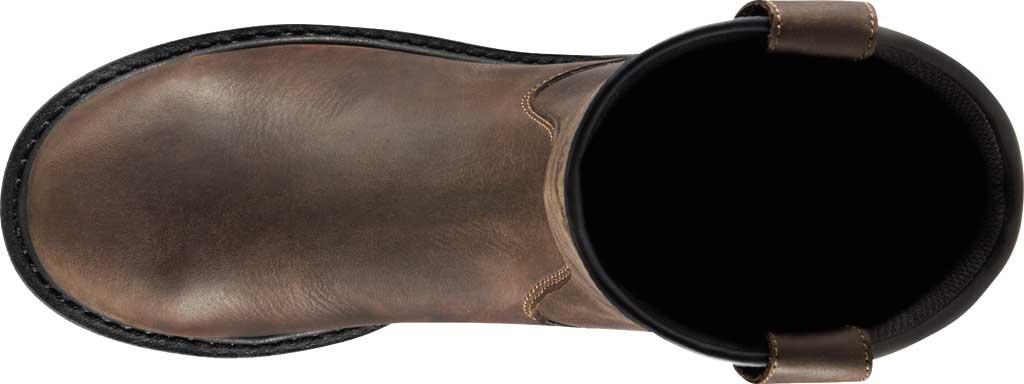 "Men's Danner Steel Yard 11"" HW Wellington Steel Toe Boot 12562, Brown Full Grain Leather, large, image 4"