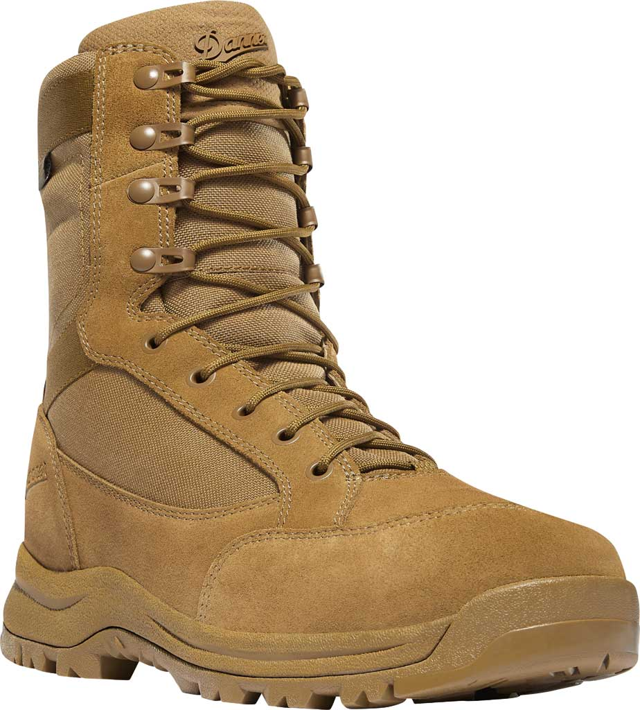 "Men's Danner Tanicus Side-Zip 8"" HW Soft Toe Boot 55322, Coyote Rough-Out Leather/Nylon, large, image 1"