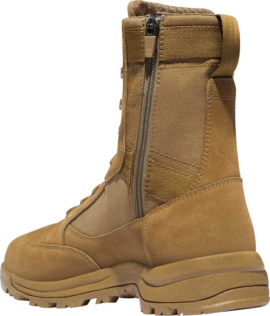 "Men's Danner Tanicus Side-Zip 8"" HW Soft Toe Boot 55322, Coyote Rough-Out Leather/Nylon, large, image 3"