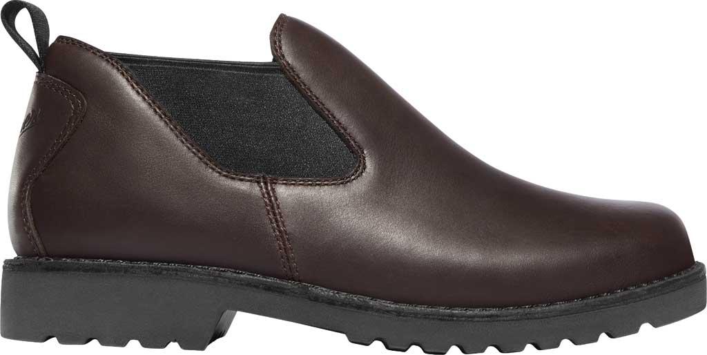 "Men's Danner Romeo 3"" HW Chelsea Work Boot 44030, Brown Full Grain Leather, large, image 2"