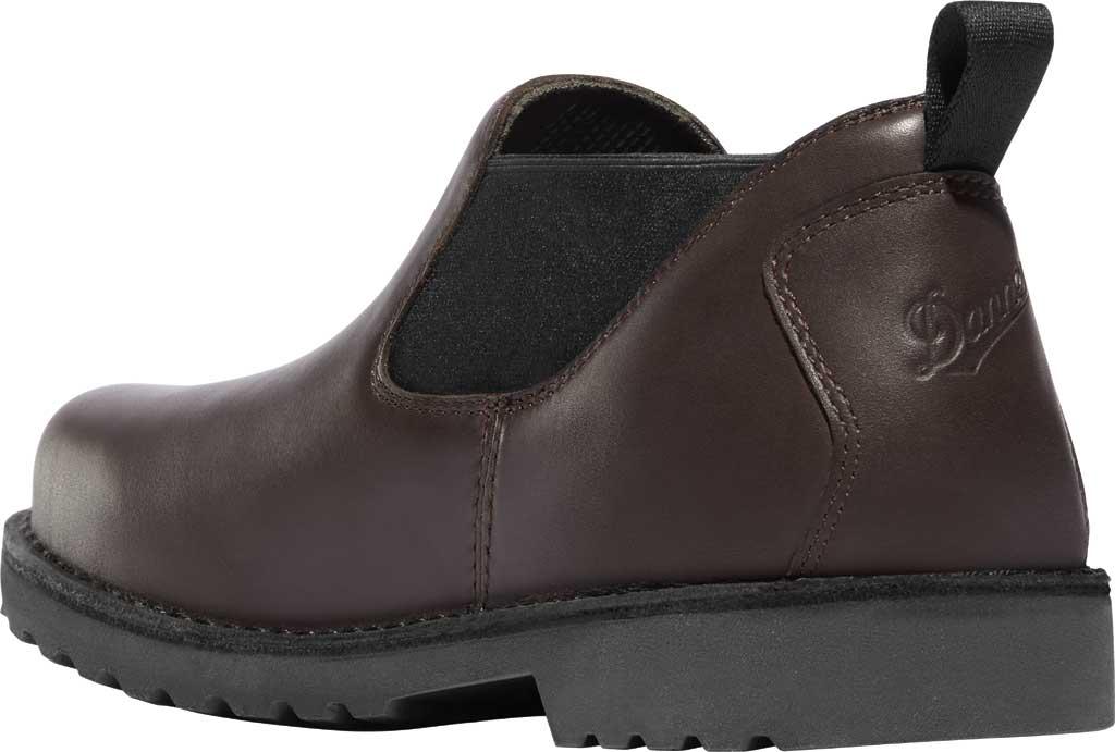 "Men's Danner Romeo 3"" HW Chelsea Work Boot 44030, Brown Full Grain Leather, large, image 3"