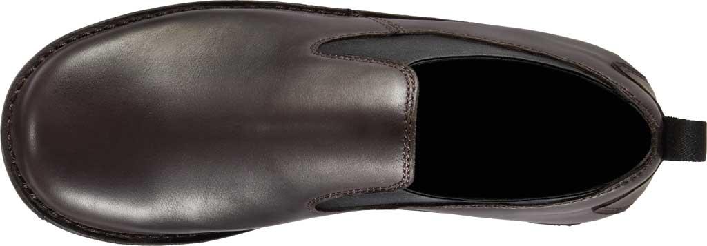 "Men's Danner Romeo 3"" HW Chelsea Work Boot 44030, Brown Full Grain Leather, large, image 4"