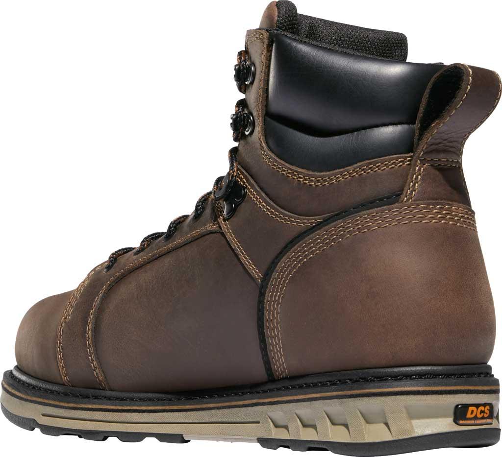 "Men's Danner Steel Yard 6"" Steel Toe Work Boot 12537, Brown Full Grain Leather, large, image 3"