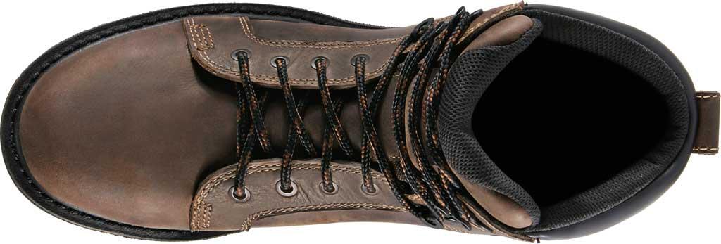 "Men's Danner Steel Yard 6"" Steel Toe Work Boot 12537, Brown Full Grain Leather, large, image 4"