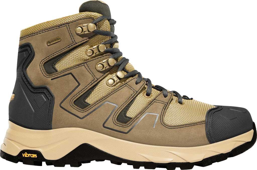 "Men's Danner Downrange 6"" GORE-TEX Work Boot 54020, Tan/Black/Charcoal Full Grain Leather/Nylon, large, image 2"