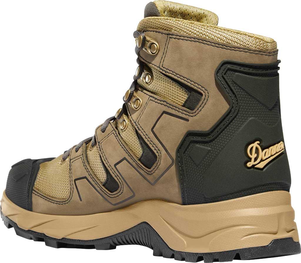 "Men's Danner Downrange 6"" GORE-TEX Work Boot 54020, Tan/Black/Charcoal Full Grain Leather/Nylon, large, image 3"