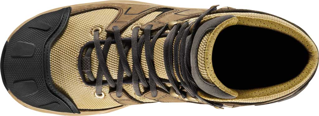 "Men's Danner Downrange 6"" GORE-TEX Work Boot 54020, Tan/Black/Charcoal Full Grain Leather/Nylon, large, image 4"