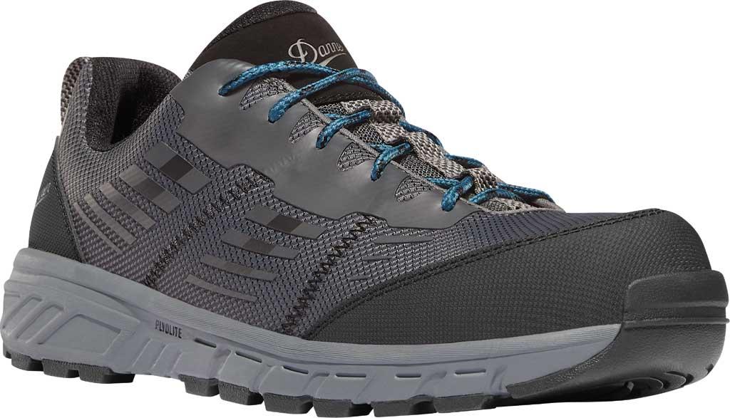 "Men's Danner Run Time 3"" Soft Toe Work Shoe 12376, Dark Shadow No-Sew Textile, large, image 1"