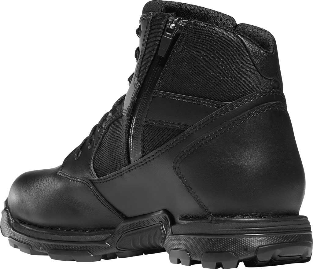 "Men's Danner StrikerBolt Side-Zip 6"" GTX Work Boot 26635, Black PU Coated Leather/Nylon, large, image 3"