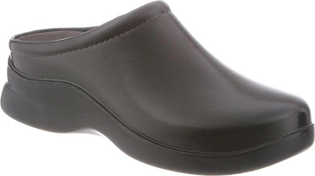Women's Klogs Dusty, Gloss Black, large, image 1
