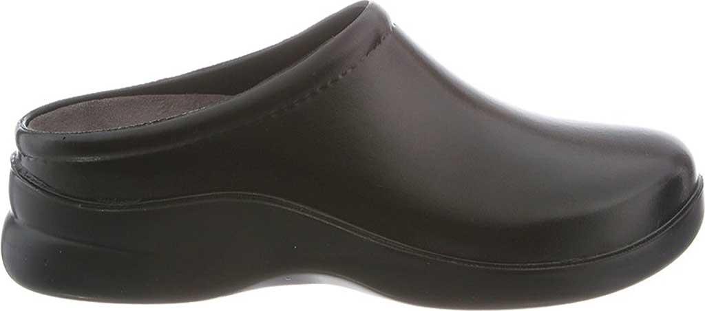 Women's Klogs Dusty, Gloss Black, large, image 2