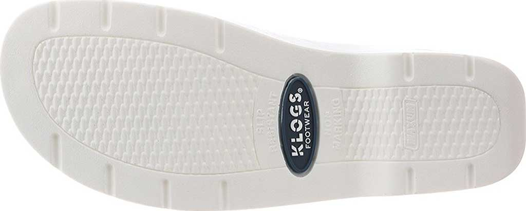 Women's Klogs Naples Clog, White Smooth Leather, large, image 6