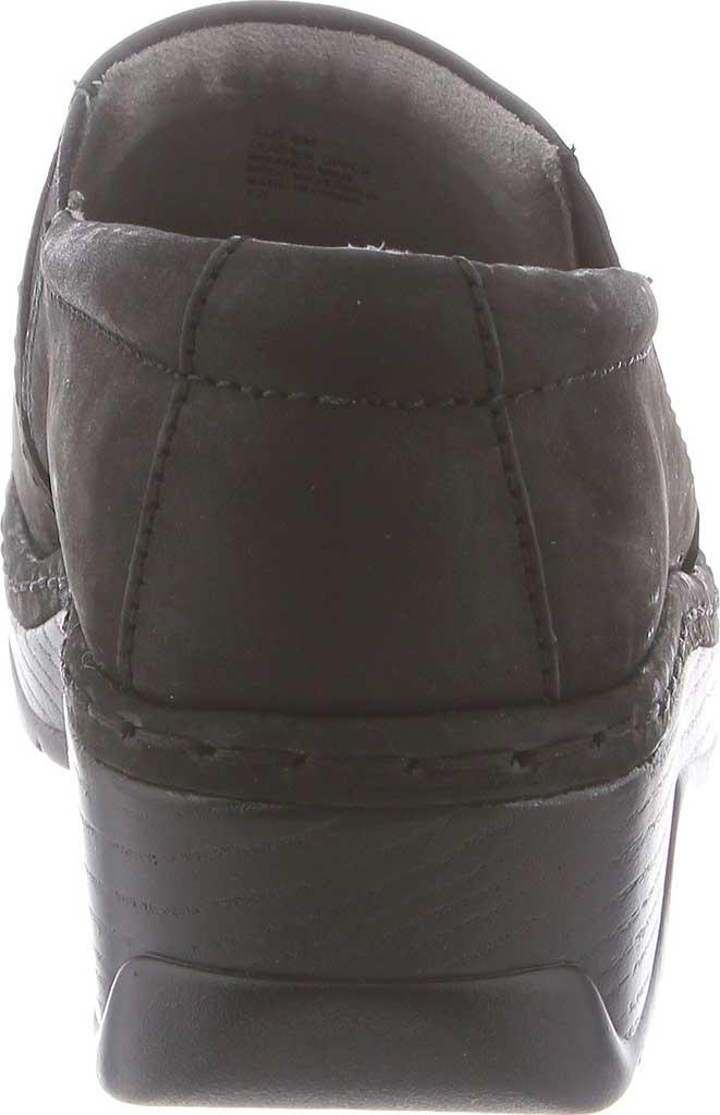 Women's Klogs Naples Clog, Black Oiled Leather, large, image 5