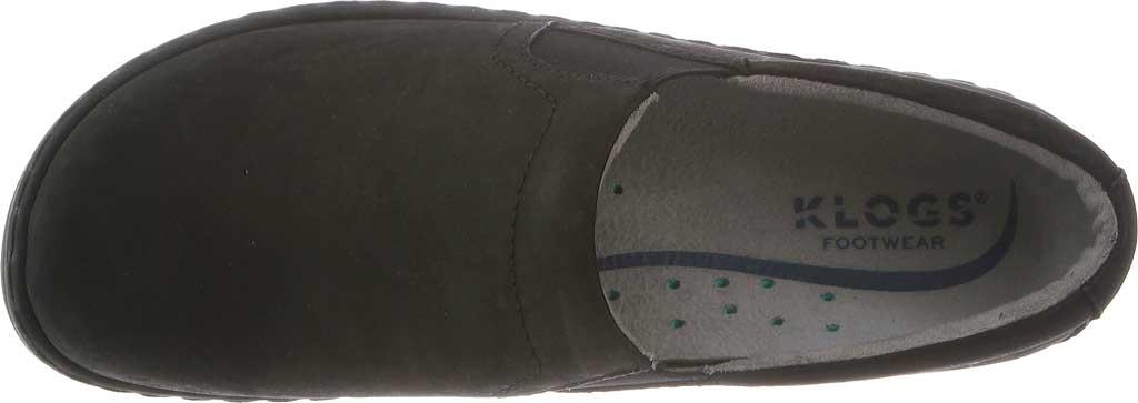 Women's Klogs Naples Clog, Black Oiled Leather, large, image 6