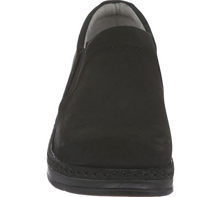 Women's Klogs Naples Clog, Black Oiled Leather, large, image 4