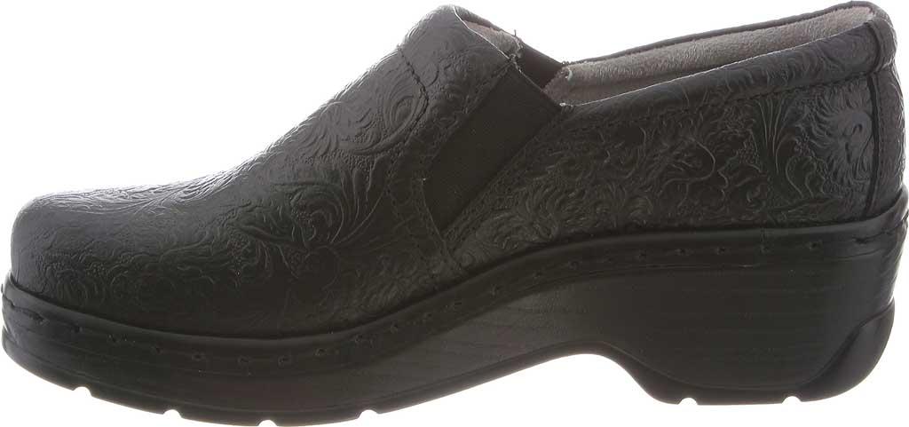 Women's Klogs Naples Clog, Black Tooled, large, image 3