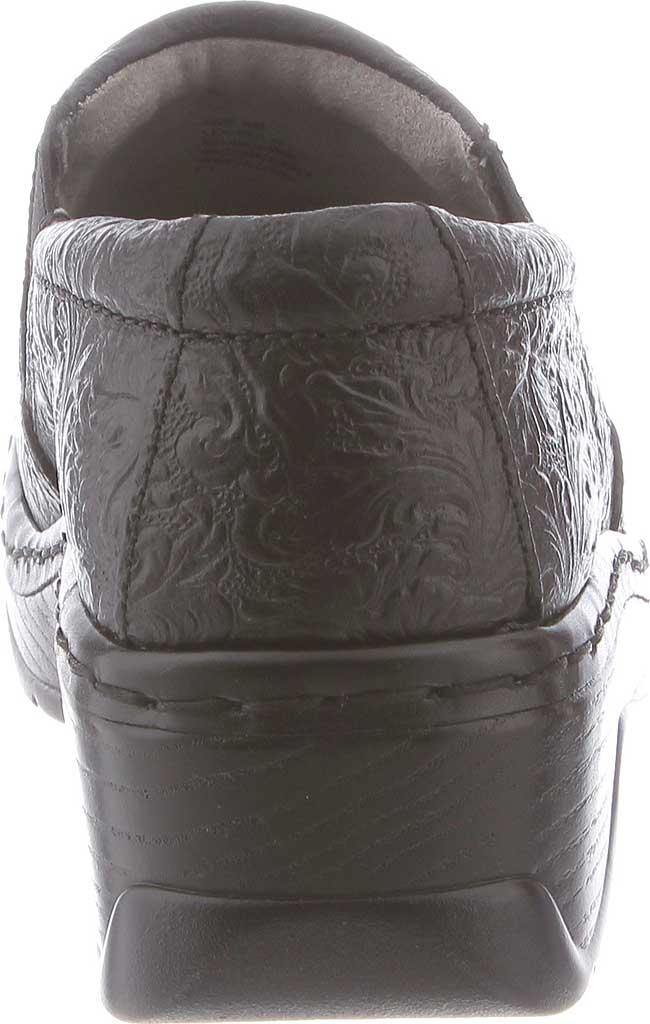 Women's Klogs Naples Clog, Black Tooled, large, image 5