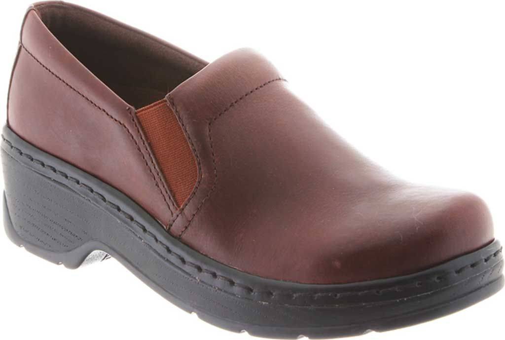 Women's Klogs Naples Clog, Infield Chaos Leather, large, image 1