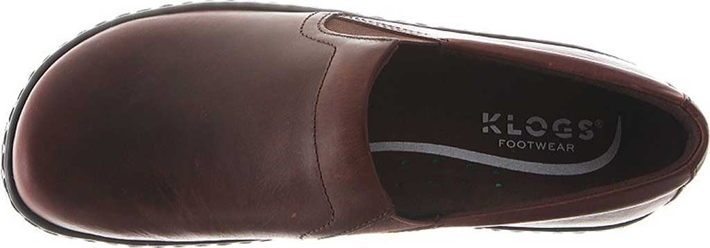Women's Klogs Naples Clog, Infield Chaos Leather, large, image 5