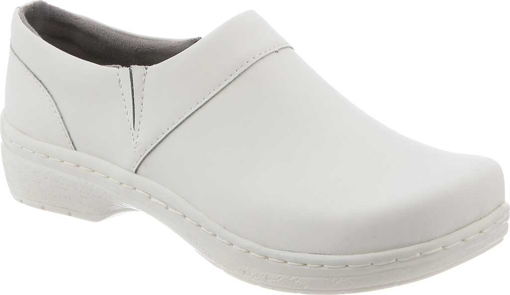 Women's Klogs Mission, White Smooth, large, image 1