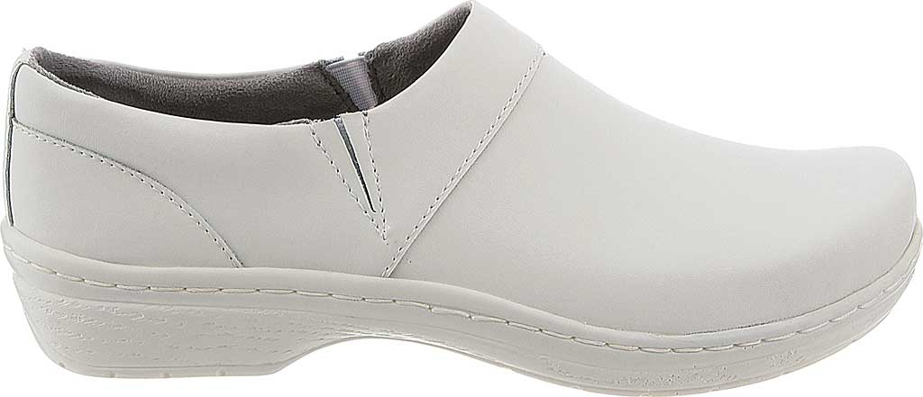 Women's Klogs Mission, White Smooth, large, image 2