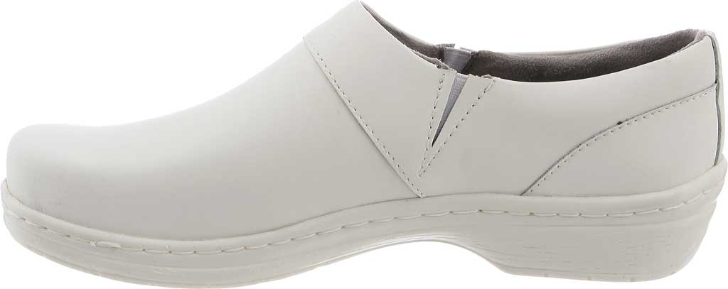 Women's Klogs Mission, White Smooth, large, image 3