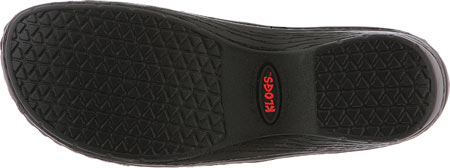 Women's Klogs Mission, Black Tooled Leather, large, image 7