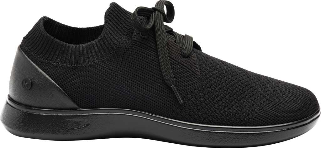 Women's Klogs Hadley Sneaker, Black/Black Knit, large, image 2