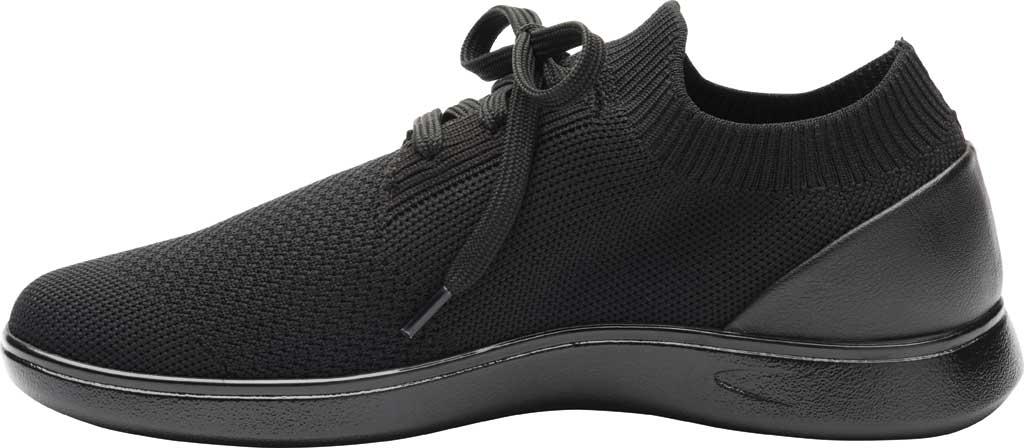 Women's Klogs Hadley Sneaker, Black/Black Knit, large, image 3