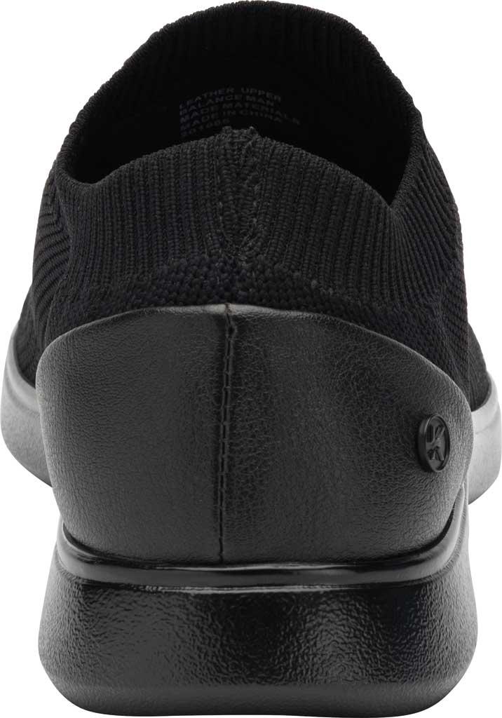 Women's Klogs Hadley Sneaker, Black/Black Knit, large, image 4