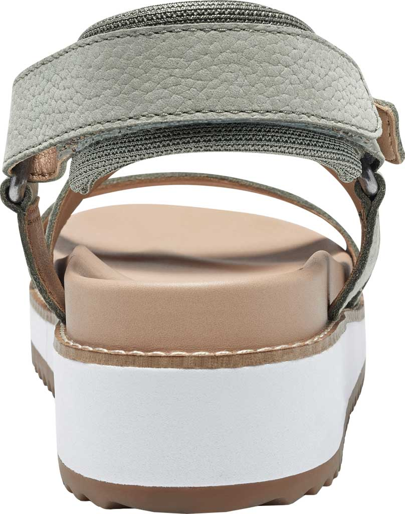 Women's Lucky Brand Idenia Wedge Strappy Sandal, Seagrass Embossed Nubuck, large, image 5