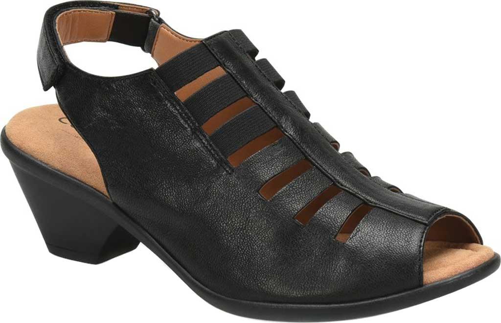 Women's Comfortiva Faye Slingback, Black Full Grain Leather, large, image 1