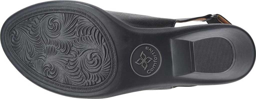 Women's Comfortiva Faye Slingback, Black Full Grain Leather, large, image 4