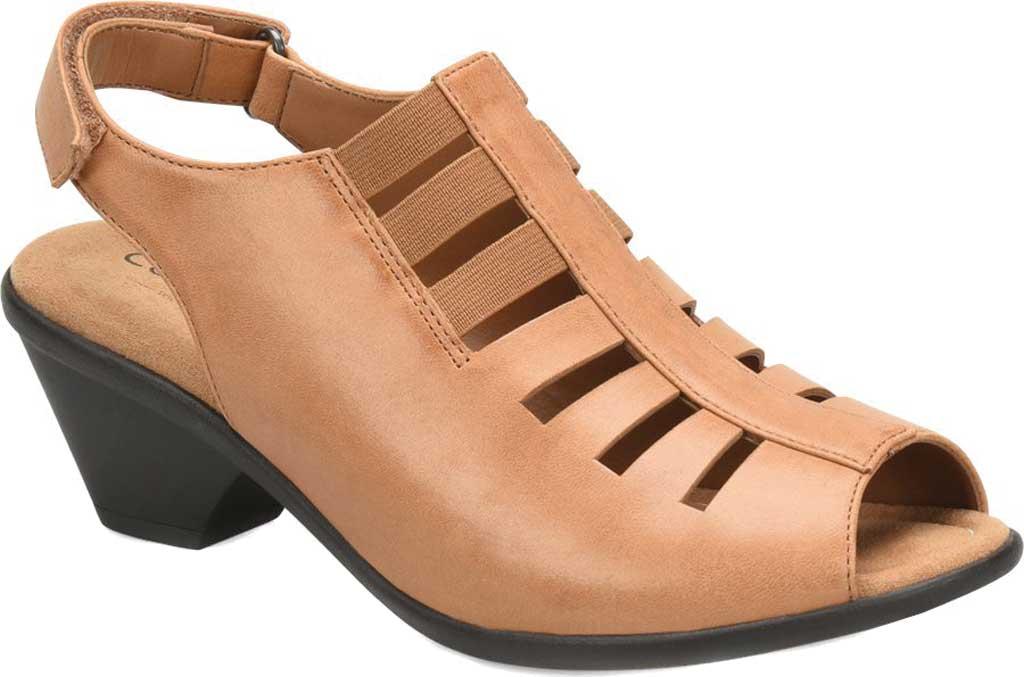 Women's Comfortiva Faye Slingback, Desert Tan Full Grain Leather, large, image 1